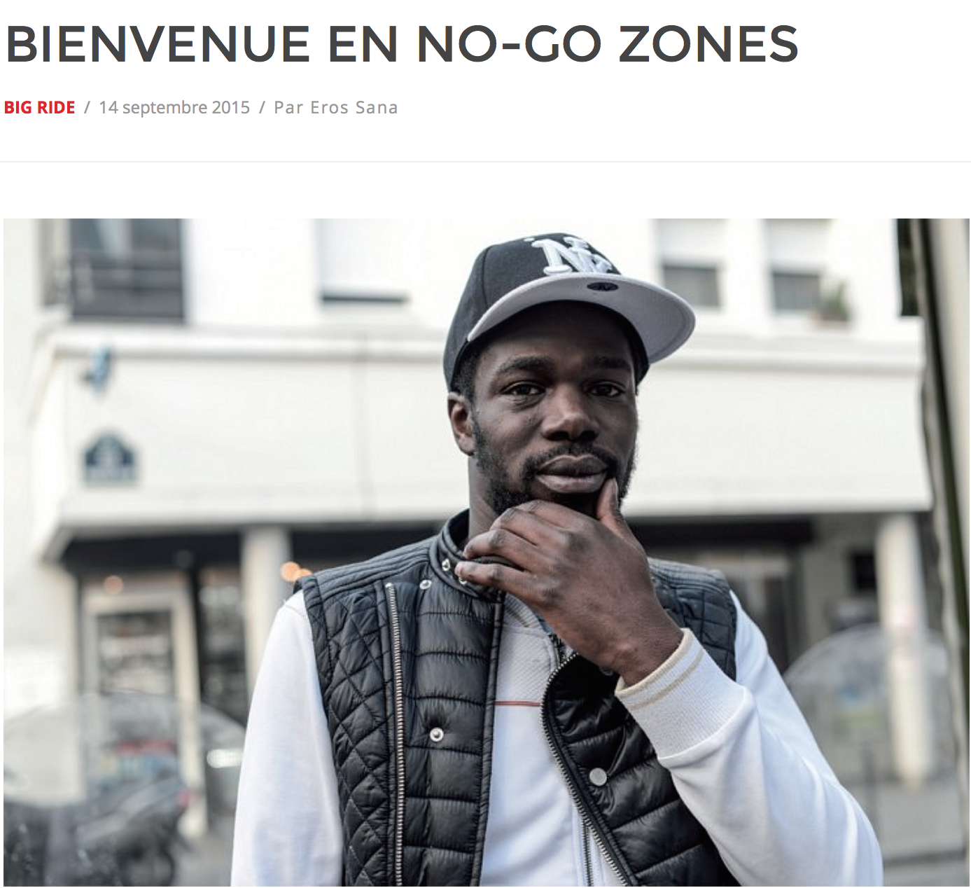 Bienvenue en No-Go zones