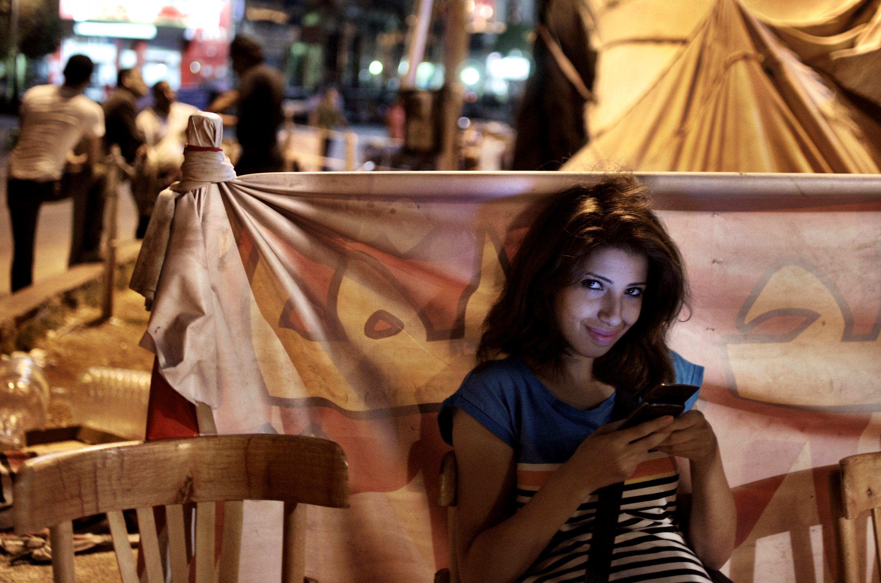 Ces femmes qui font la révolution égyptienne
