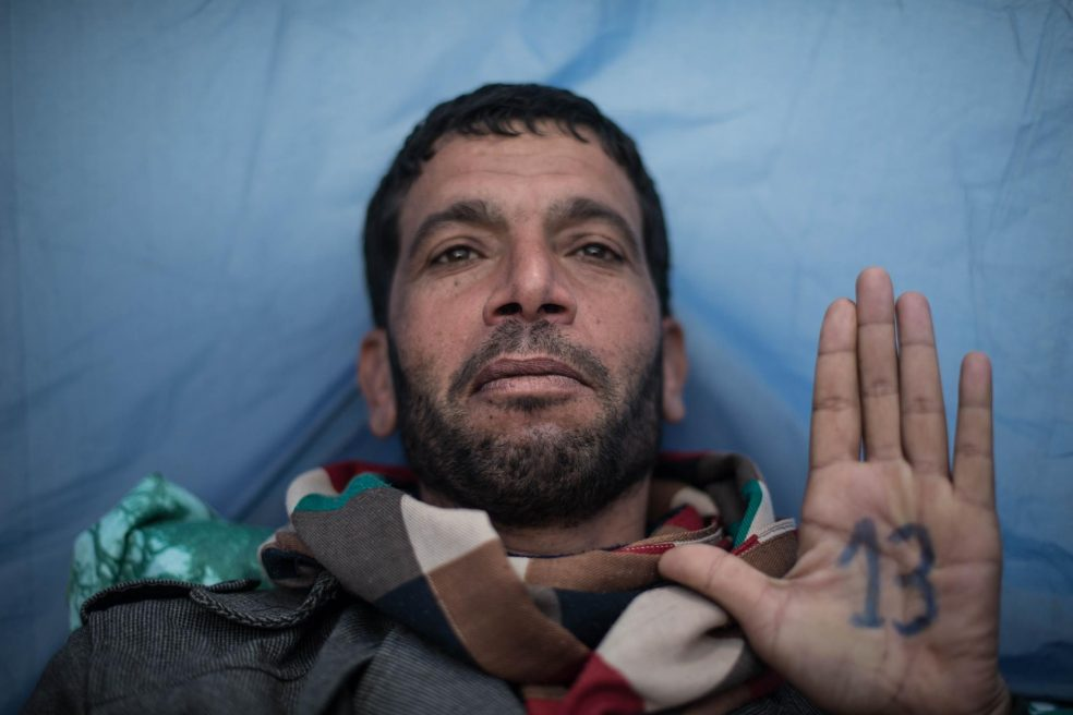Tunisia: stitched mouths of Kasserine