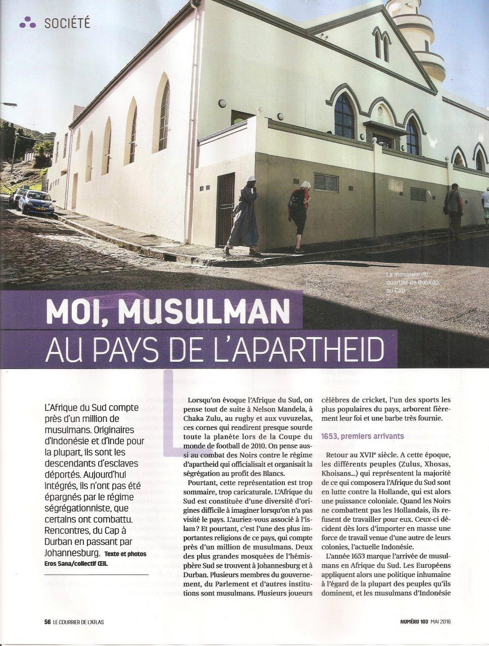 Moi, musulman au pays de l'apartheid