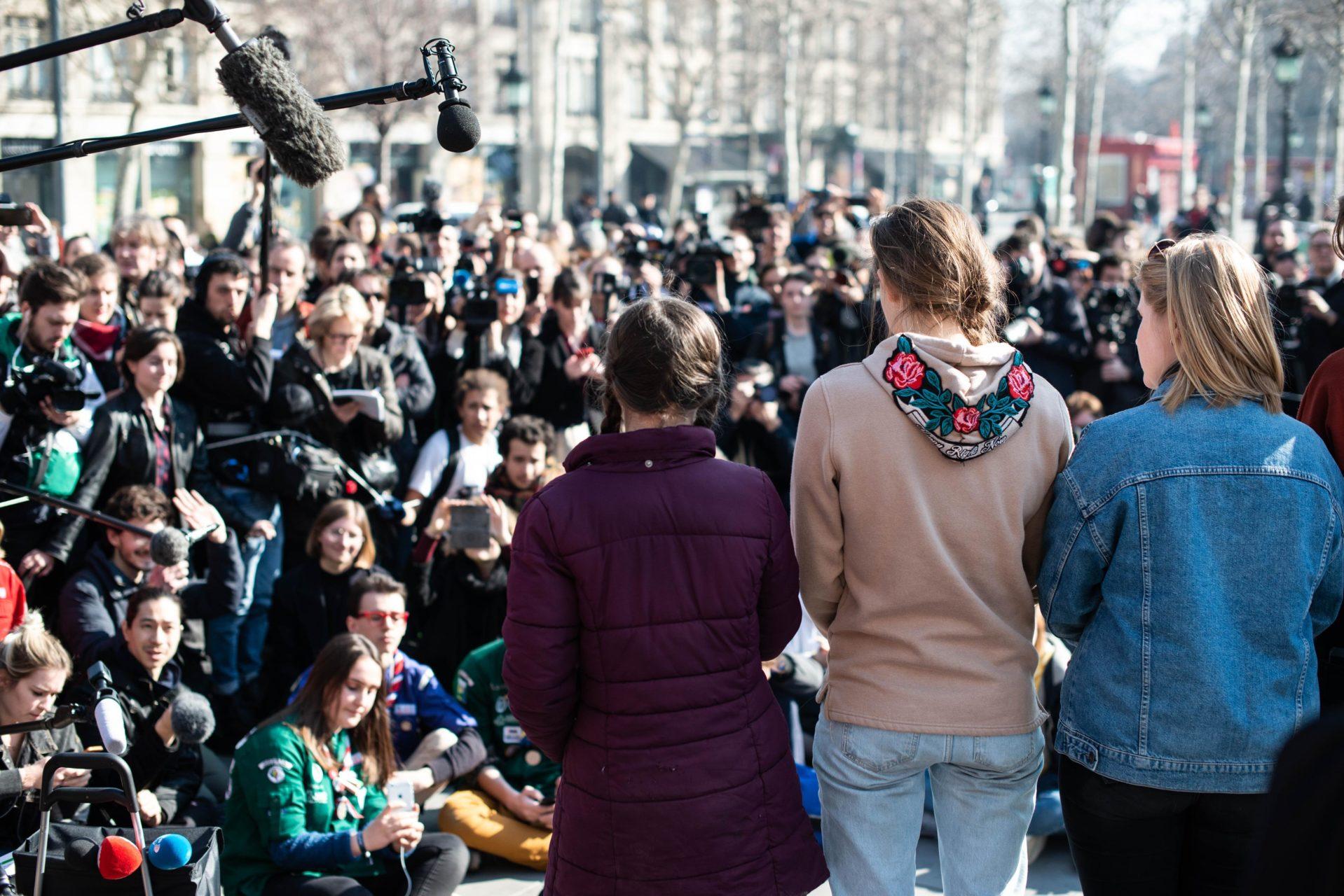 Greta Thunberg and the medias