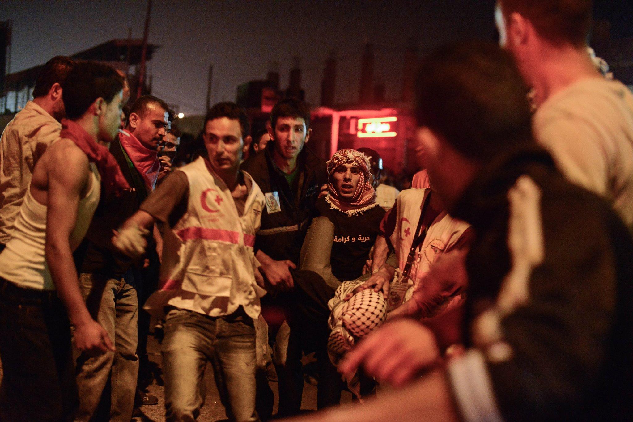Palestine 2014  par Eros Sana