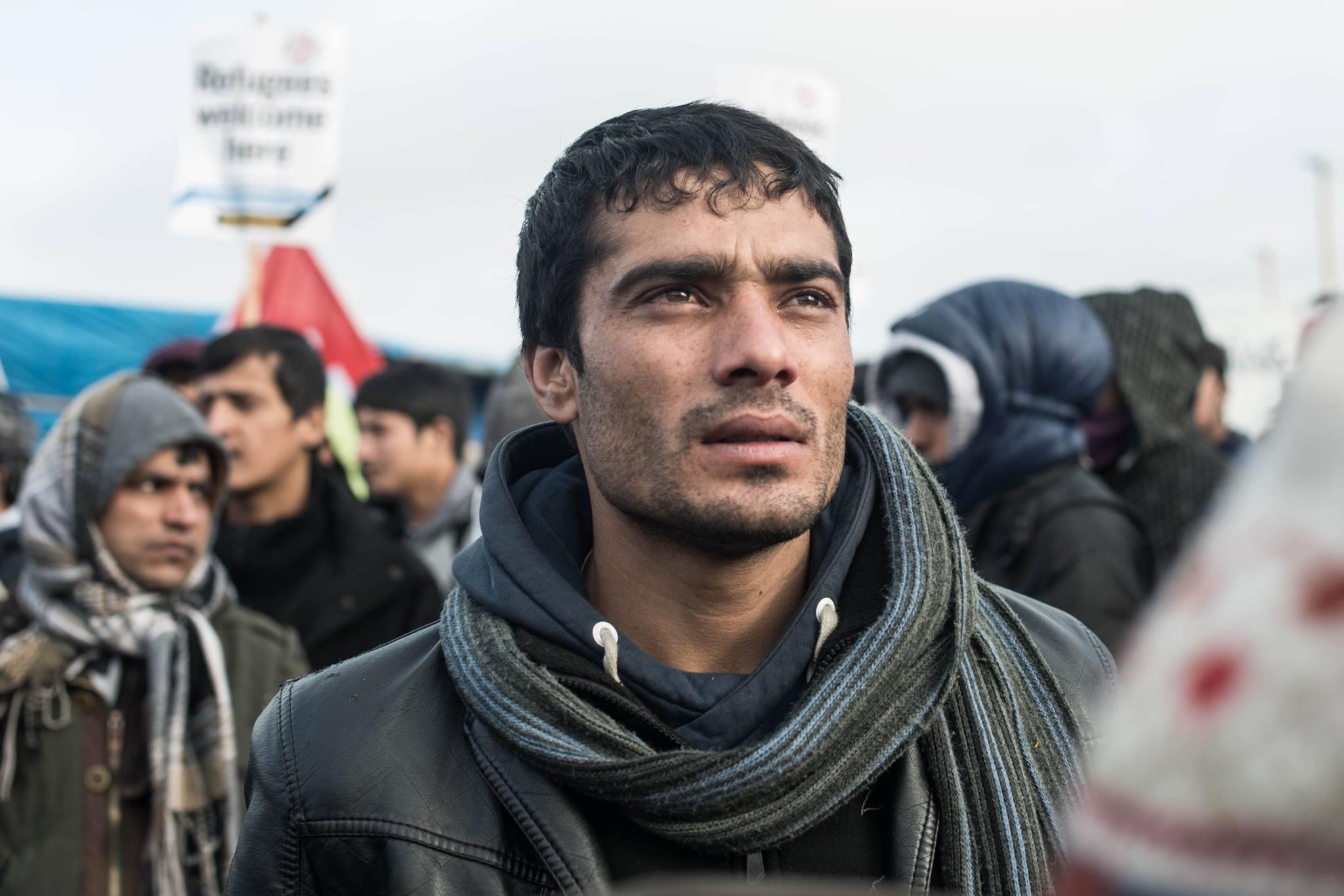 Réfugié dans la Jungle de Calais