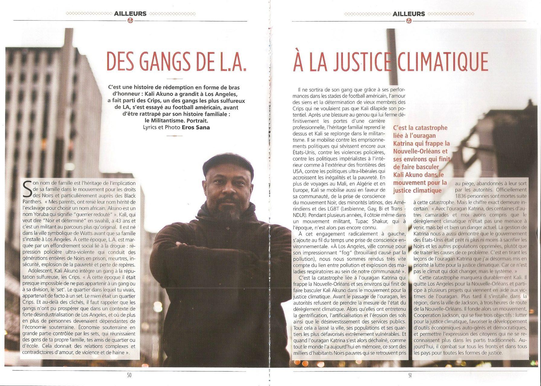 Des gangs de L.A. à la justice climatique