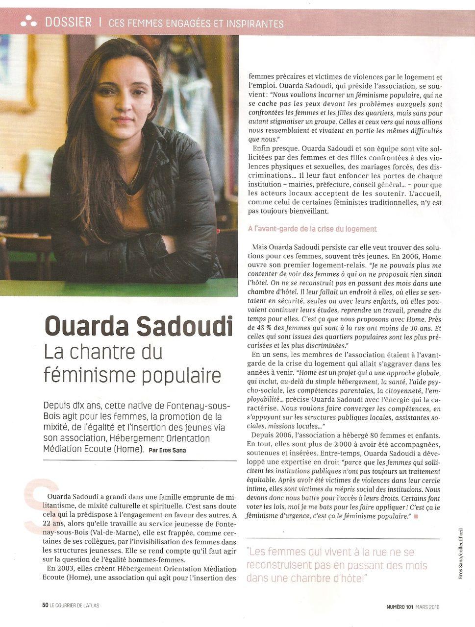 Ouarda Sadoudi