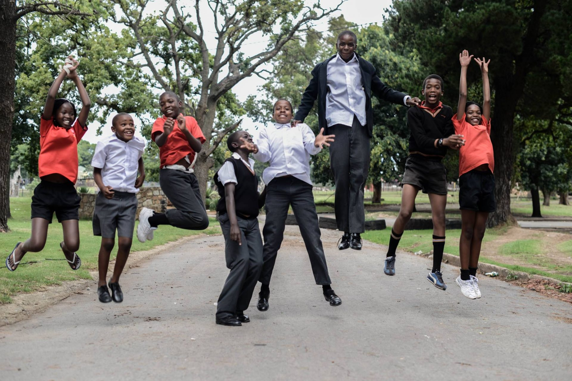 jumping youth South Africa