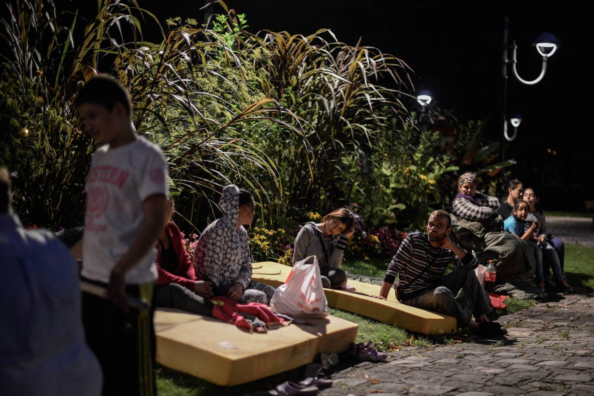 Mobilisation des Roms