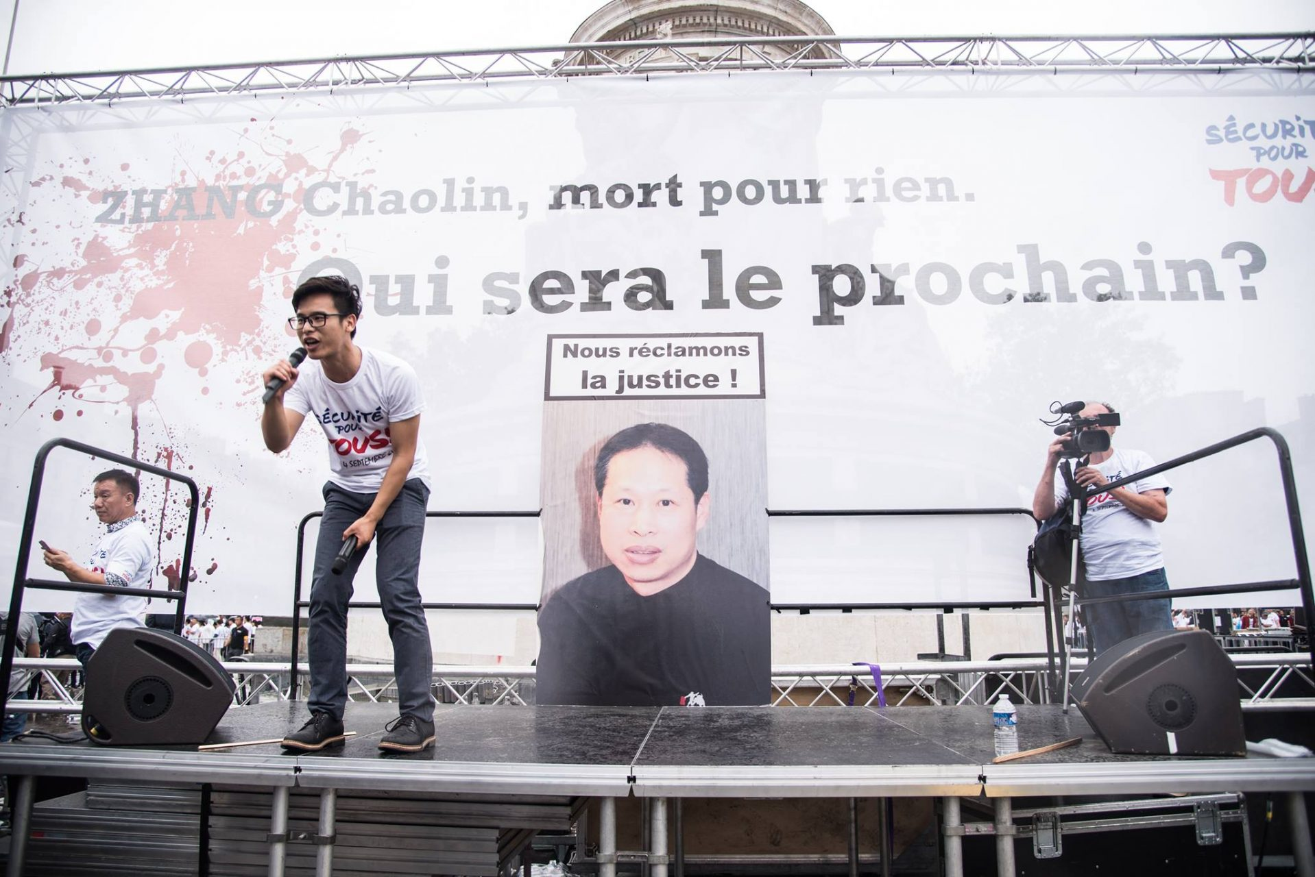 Manif communauté chinoise 5